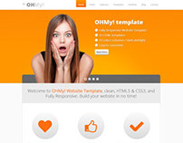 OHMY! Bootstrap Responsive Website Template