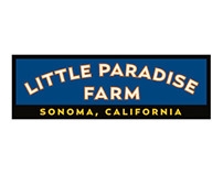 Britton Design Little Paradise Farm Pasta Sauce label.