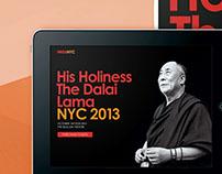 His Holiness The Dalai Lama:A Talk in New York