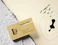 Logo and businesscard design for a winery