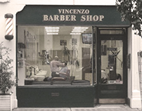 Vincenzo Barber Shop Website