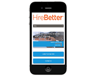 Web Design: HireBetter.com (SpaceCraft)