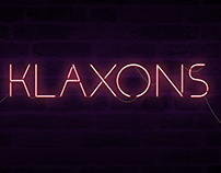 Klaxons - free personal and commercial font