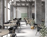 Interior visualization 002 / Restaurant
