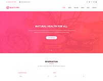 Beauty Pro – PSD Template