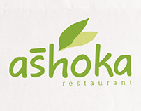 A4 Size menu for Ashoka restaurant