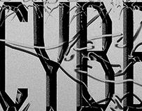 Cyberspace - Typographic experiment