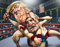Trump vs Cruz: Cage Match