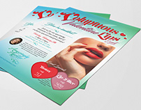 """Voluptuous Valentine Lips"" Flyer, Amazingly Ageless"