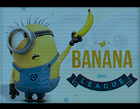 Banana League. Branding & Site