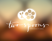 Two Spoons Productions Logo Design