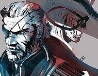 Metal Gear Solid Fanart