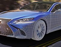 2018 Lexus LS500 | CGI | Hard-surface modeling
