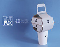 Wrap Pack – a sustainable fast food packaging