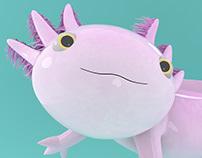 Ajali The Axolotl