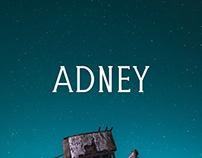 Adney - Free Slab Serif Font