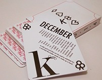 Typographic Calendar 2014