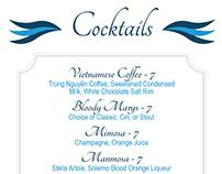 Flatbread & Cocktails Menu