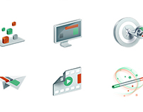Icons for advertisement website