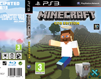 Minecraft 'God Edition' Game Cover