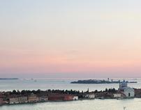 Venedig. Stadt im Wasser.