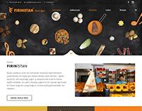 Fırınistan Cafe Web Site