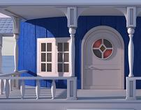 Moomin House WIP