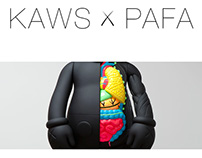 KAWS x PAFA