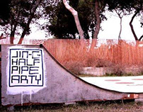 Jin-G Half Pipe Arty, Israel 2011. Street Art & Video