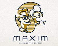 Maxim brand identity