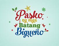 Title Card - Pasko ng mga Batang Bigueño