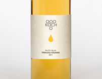 KOCH Wine Label