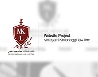 Website Project - Motasem Khashoggi law firm