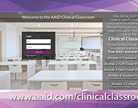 Member Benefit Postcard: Clinical Classroom, backside
