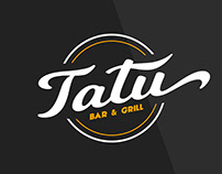Logo design for Tatu Bar & Grill