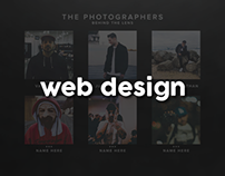 UNXPSD Website Design
