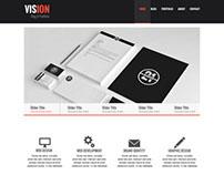 Vision Theme - Portfolio/Blog