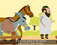 Lazzy Horse Story