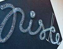 3D Typography: Piske