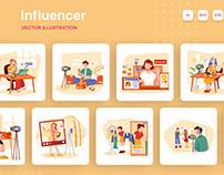 M284_ Influencer Illustration Pack