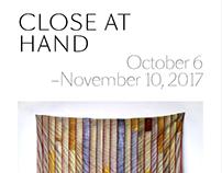 Close at Hand catalogue and wordmark