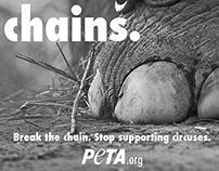 PETA Traditional Advertisement