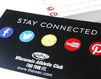 Wisconsin Athletic Club - Social Media Info Cards