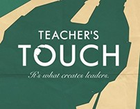 Teacher's touch ad campaign