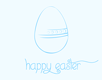 2013 Easter Greetings PSD