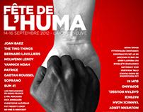 FÊTE DE L'HUMANITÉ 2012