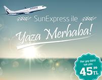 Garanti Uçuş Hattı, SunExpress Kampanyası