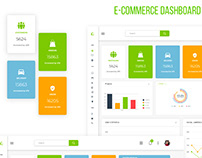 E-Commerce Dashboard UI