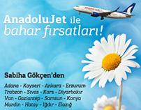 Garanti Uçuş Hattı, AnadoluJet Kampanyası