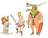SWEET REVENGE - 2011 animation character designs